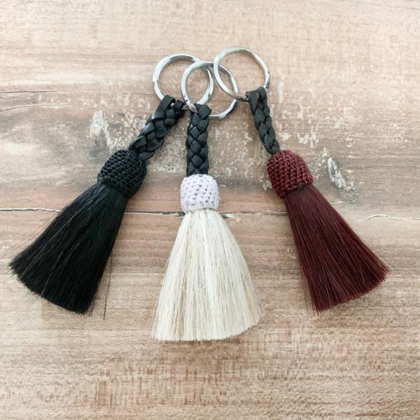 Schlüsselanhänger mit Mosquero-Quaste